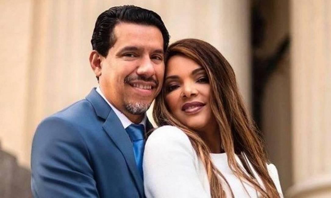 Flordelis fez ensaio romântico com pastor Anderson três dias antes do crime Foto: Reprodução/instagram
