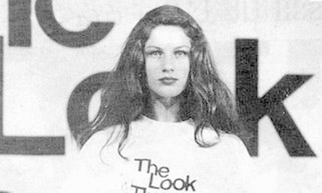 Gisele em sua edição de The Look of The Year Foto: Divulgação