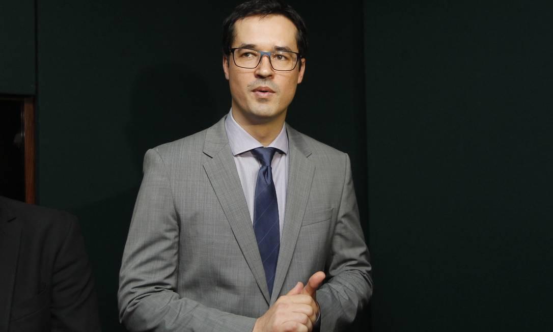 O procurador da República Deltan Dallagnol. 22/11/2016 Foto: Givaldo Barbosa / Agência O Globo
