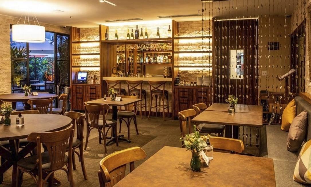 Recordar é viver. O salão do português Gajos D'Ouro, que reuniu a antiga equipe do restaurante Antiquarius Foto: Divulgação