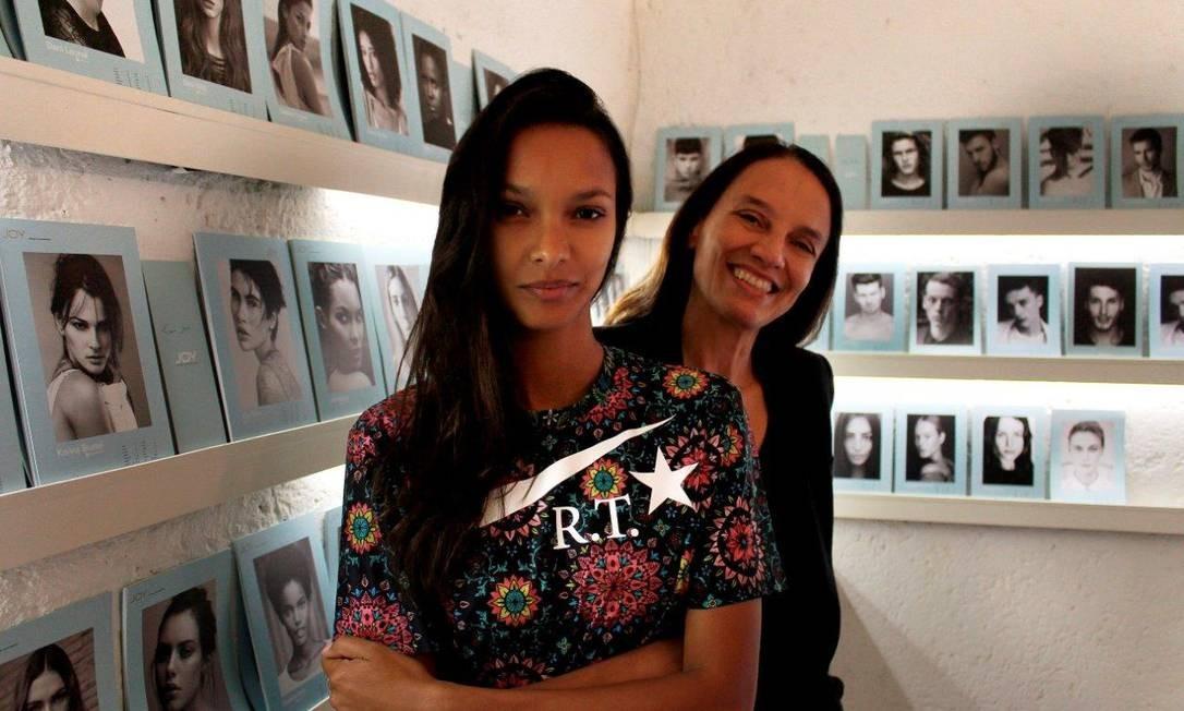 Liliana com Lais Ribeiro Foto: Arquivo pessoal