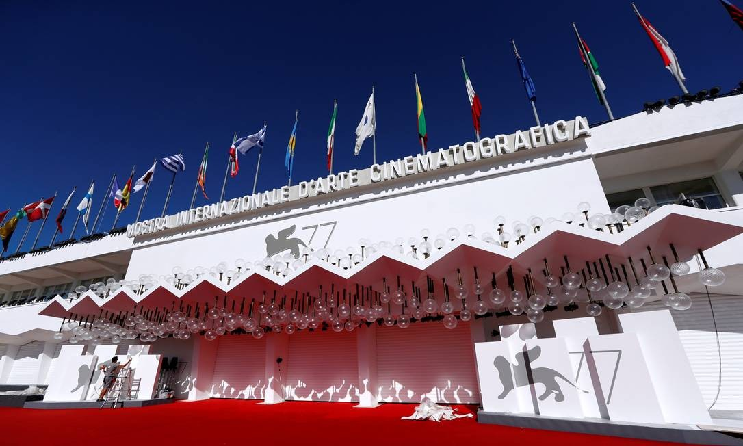 O Palazzo del Casino, casa do Festival de Veneza, que terá rígidos protocolos de segurança Foto: YARA NARDI / REUTERS