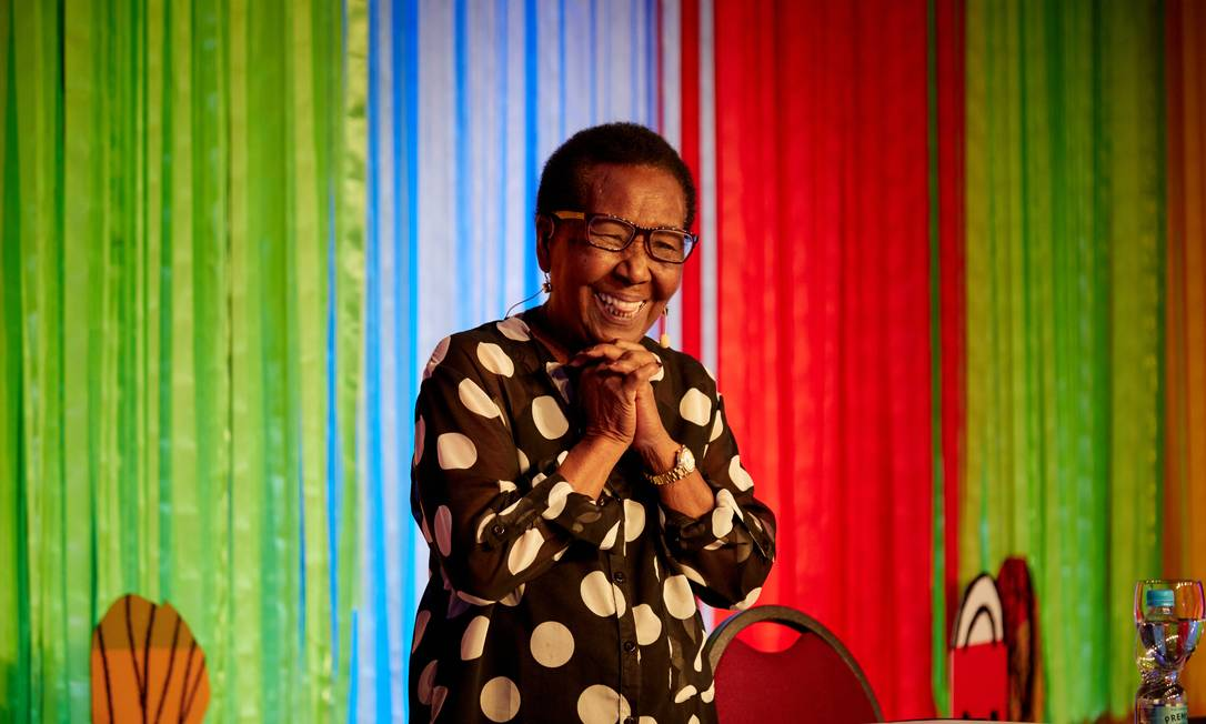 A escritora Geni Guimarães, referência para autoras negras e homenageada pela Balada Literária Foto: Camila Kinker / Divulgação