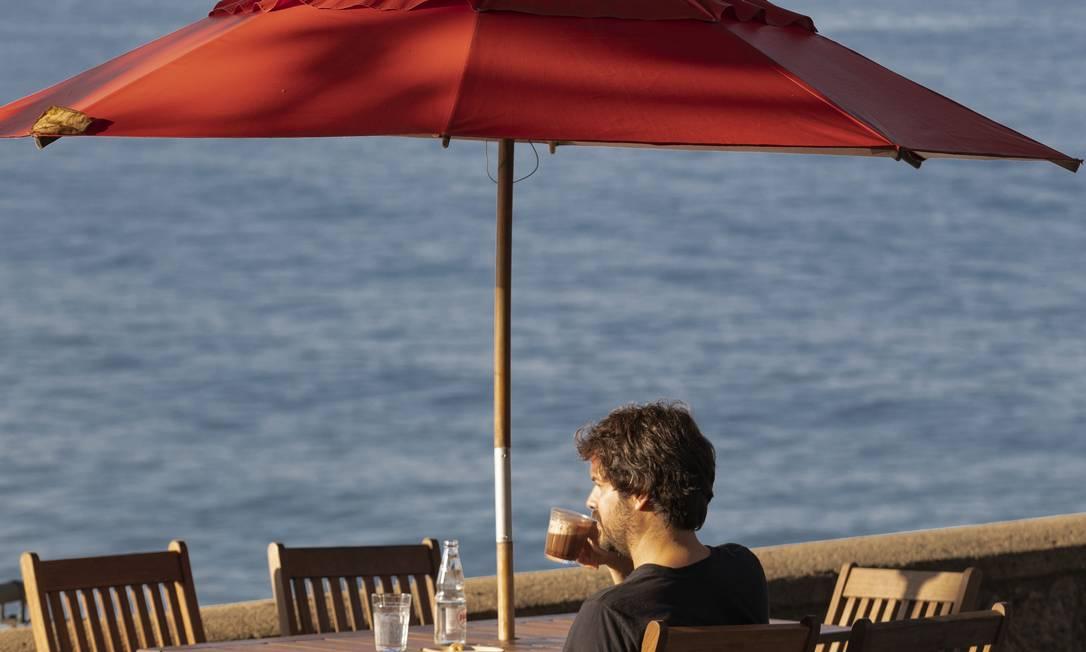 Café 18 do Forte, bar e restaurante no Forte Copacabana Foto: Ana Branco