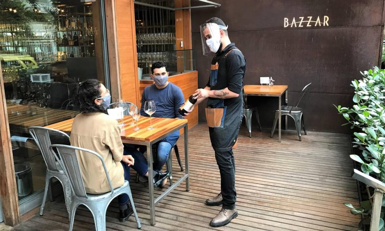 Bazzar, em Ipanema Foto: Divulgação/Ana Paula Krebs