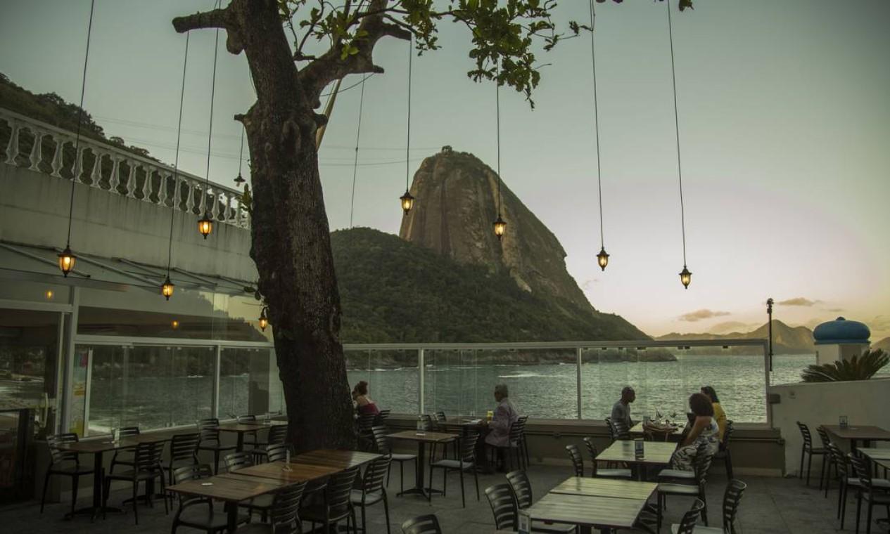 Restaurante Terra Brasilis, na Praia Vermelha, Urca Foto: Guito Moreto