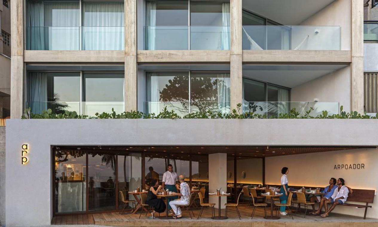 ARP no Hotel Arpoador Foto: Divulgação