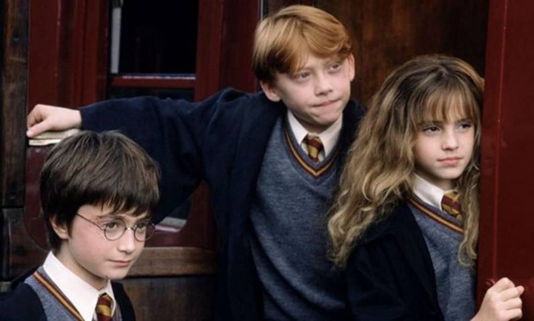 Harry Potter e a Pedra Fiosofal Foto: Divulgação