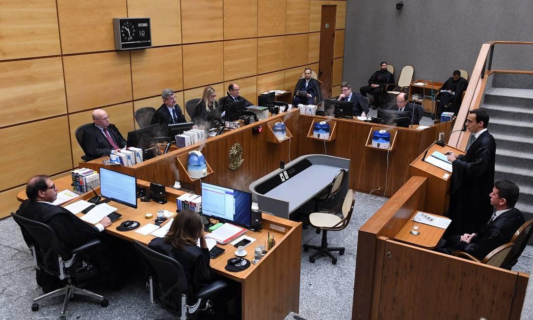 Julgamento da 4ª Turma do STJ em novembro de 2019 Foto: GUSTAVO LIMA / Flickr STJ