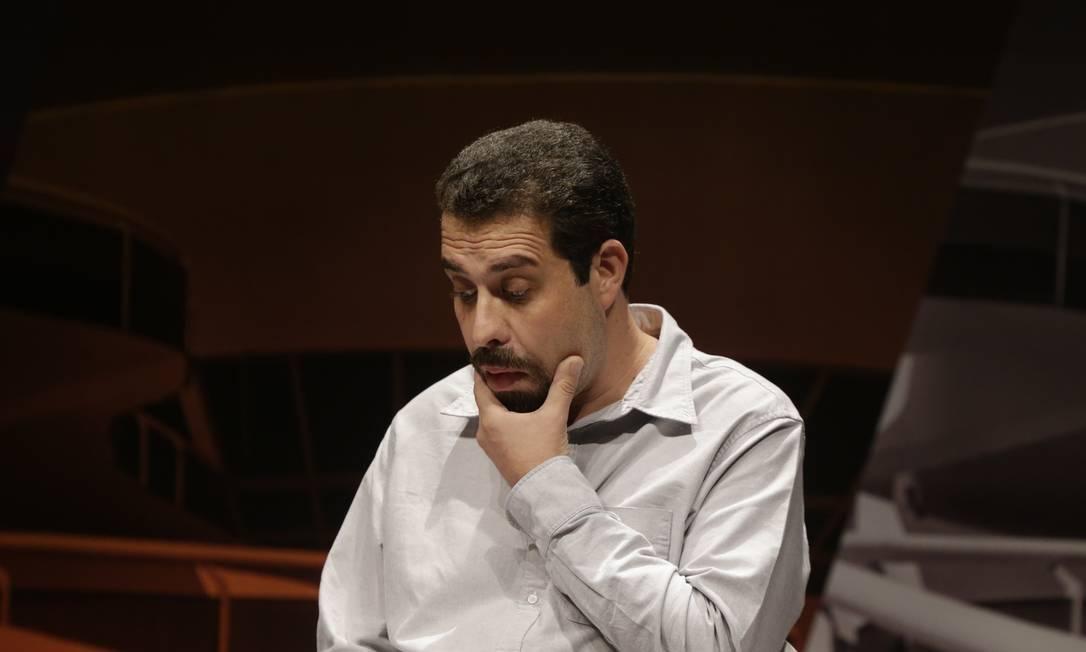 Guilherme Boulos, do PSOL Foto: Gabriel Paiva / Agência O Globo