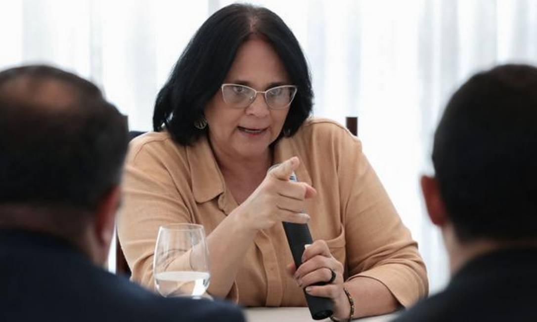 Em menos de dois anos de gestão, Damares foi de assessora parlamentar a estrela do bolsonarismo Foto: MARCOS CORRÊA/PR