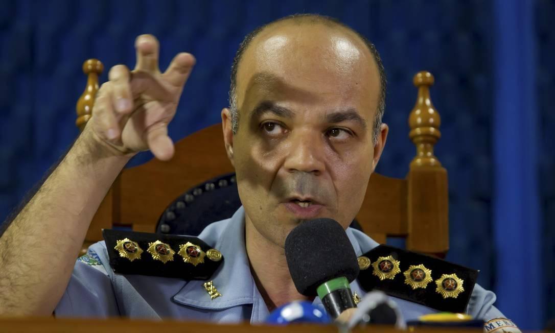 O coronel da Polícia Militar, Íbis Pereira Foto: Fernando Quevedo / Agência O Globo