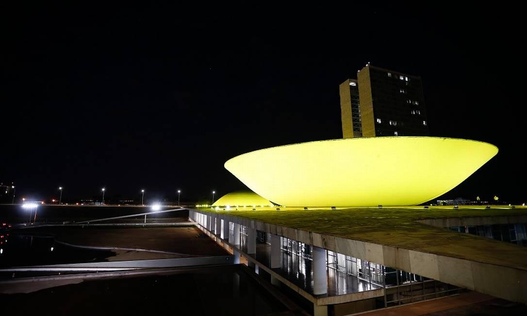 Congresso Nacional: governo planeja acelerar aprovação da reforma. Foto: Pablo Jacob / Agência O Globo
