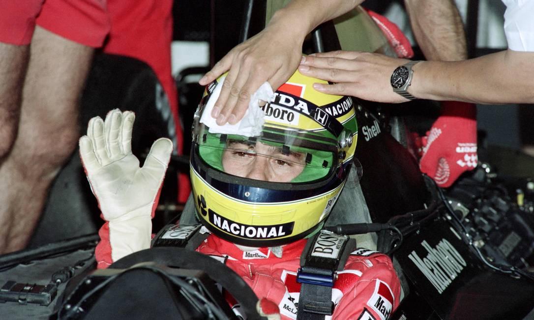 Produção abordará carreira e bastidores da vida do piloto de Fórmula 1, morto em 1994 Foto: AFP