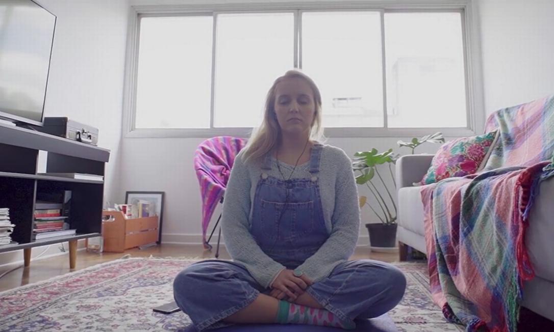 Anna Carolina Rezende encontrou no mindfulness uma ferramenta para lidar com a ansiedade Foto: G.LAB