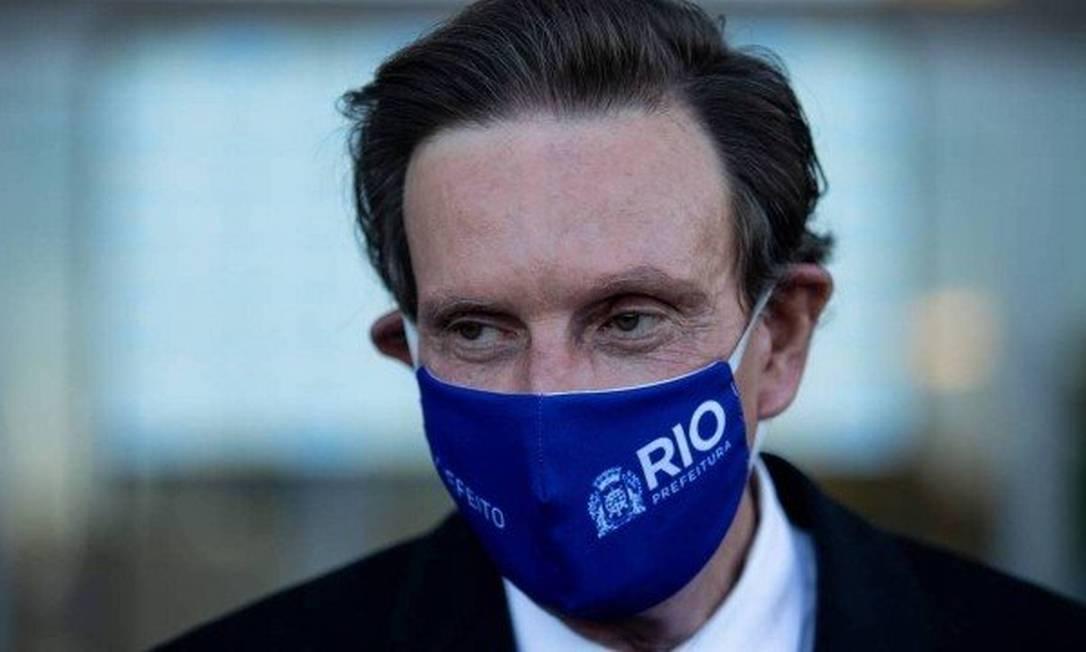 O prefeito do Rio, Marcelo Crivella Foto: Brenno Carvalho/O Globo