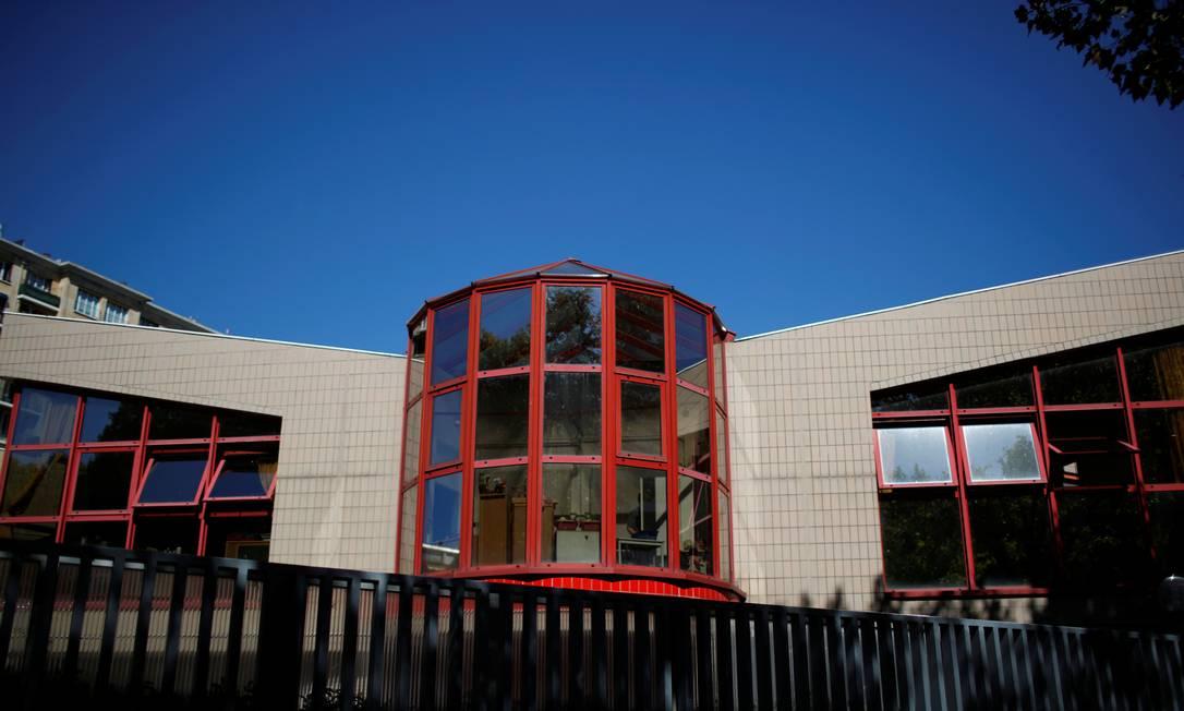 Escola na França que fechou após casos de Covid-19 Foto: Gonzalo Fuentes / Reuters