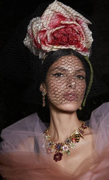 Alta Moda de Dolce & Gabbana Foto: Divulgação