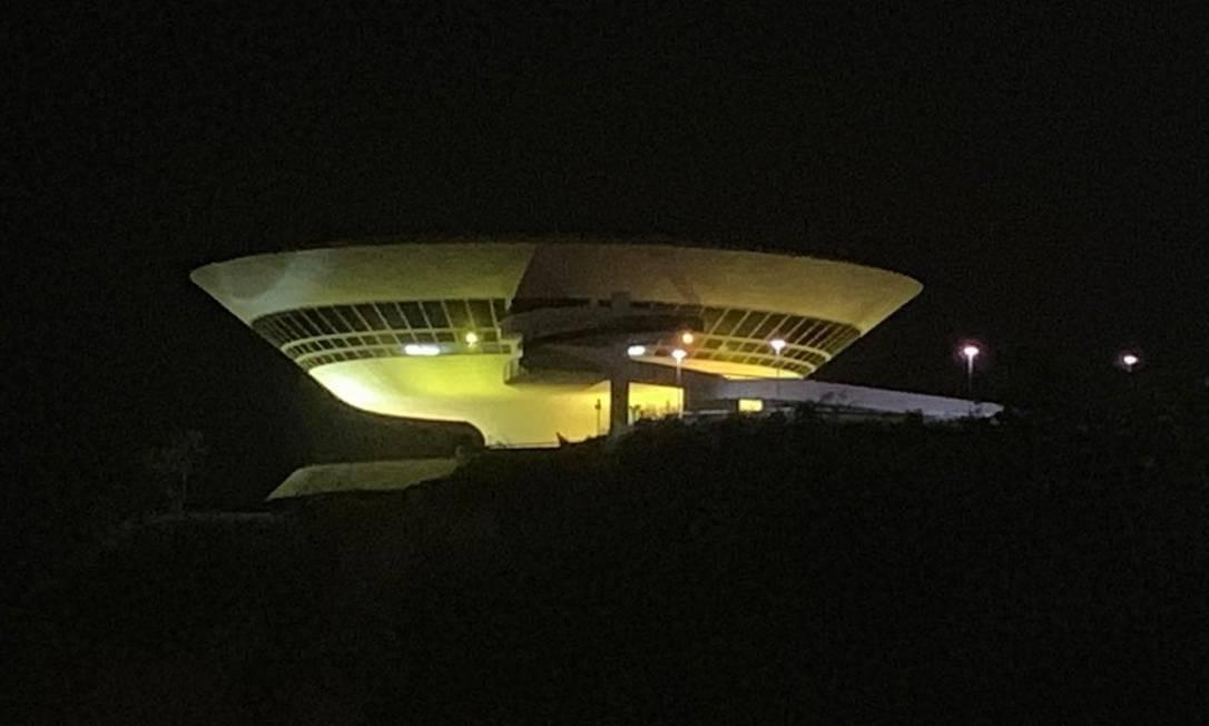 MAC ficará iluminado de amarelo a partir da segunda semana de setembro Foto: Divulgação