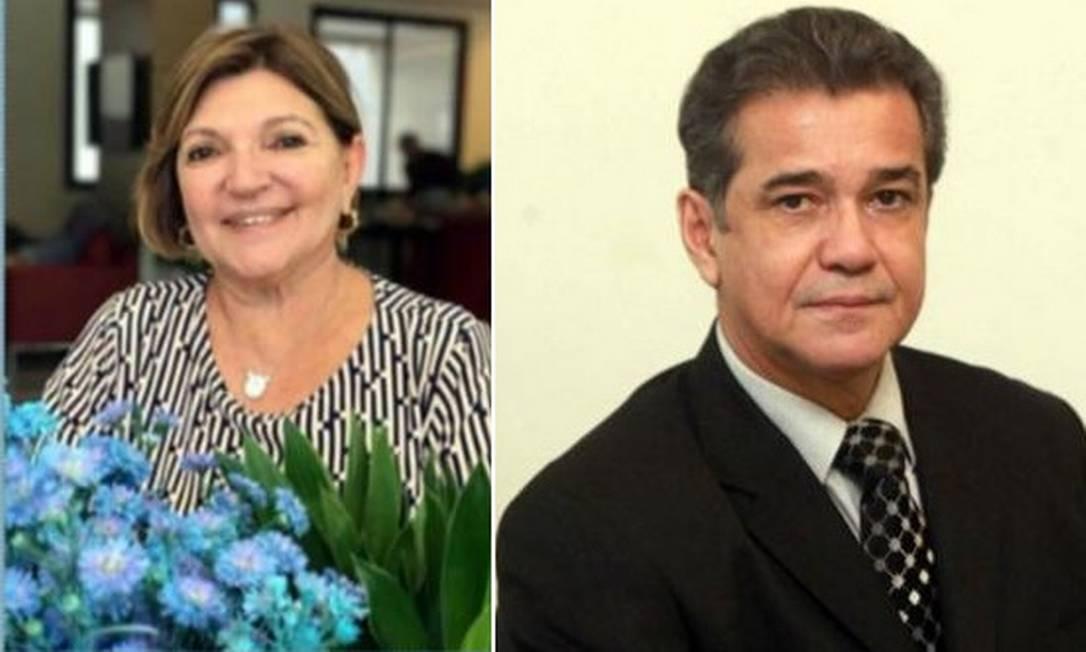 Margarett Rose Nunes Leite Cabral (E) é chefe de gabinete de Crivella. Já Ailton Cardoso da Silva e assessor especial Foto: Reprodução