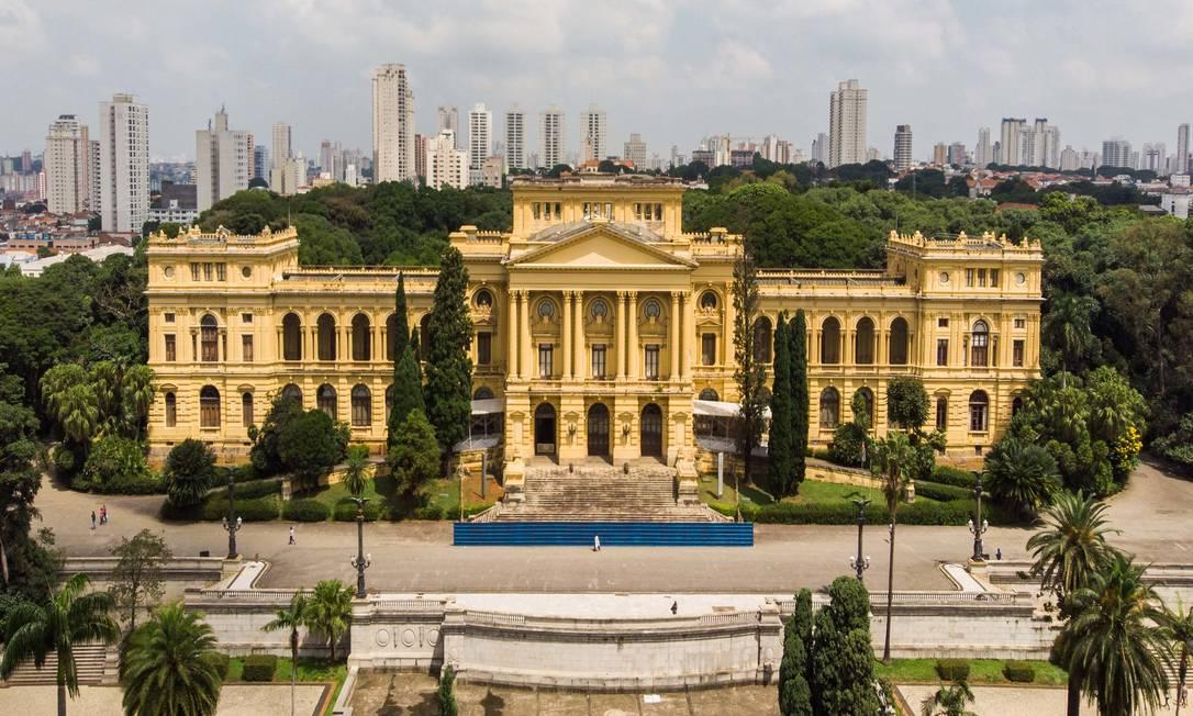 Fachada do Museu do Ipiranga, que está fechado para reformas desde 2013, em São Paulo Foto: Ministério do Turismo / Divulgação