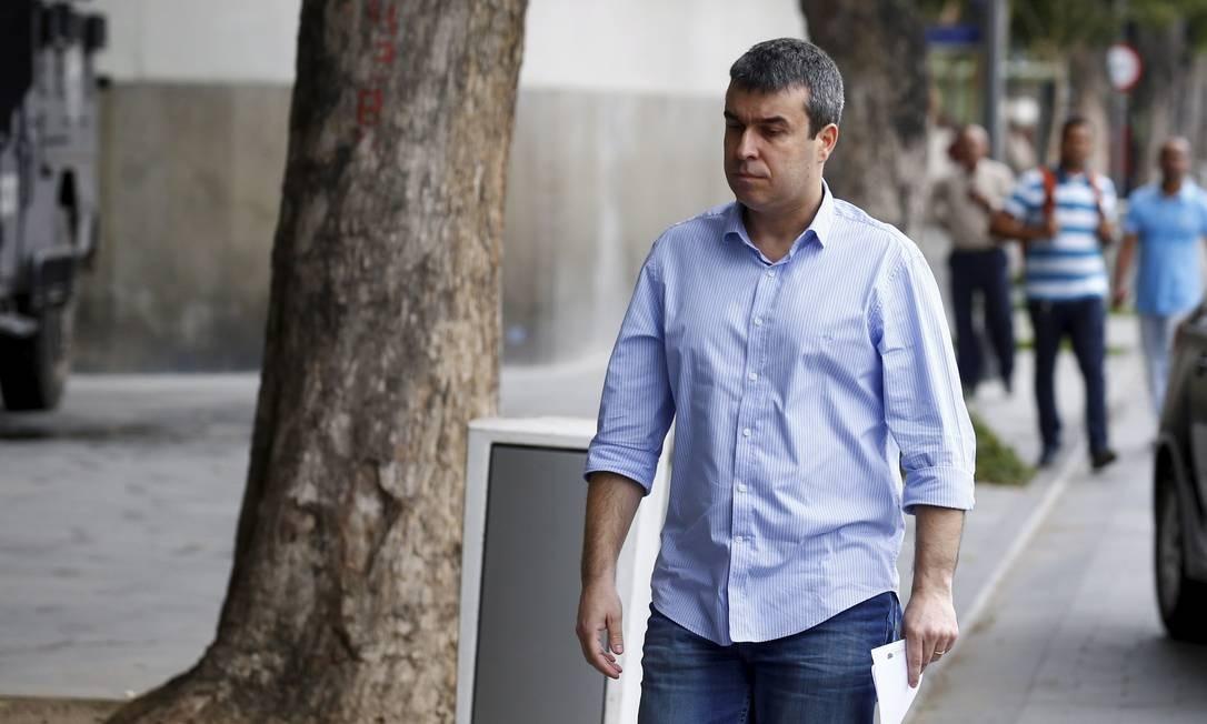 Es-secretário de Paes, Rodrigo Bethlem está na campanha com Crivella em 2020 Foto: Pablo Jacob / Agência O Globo