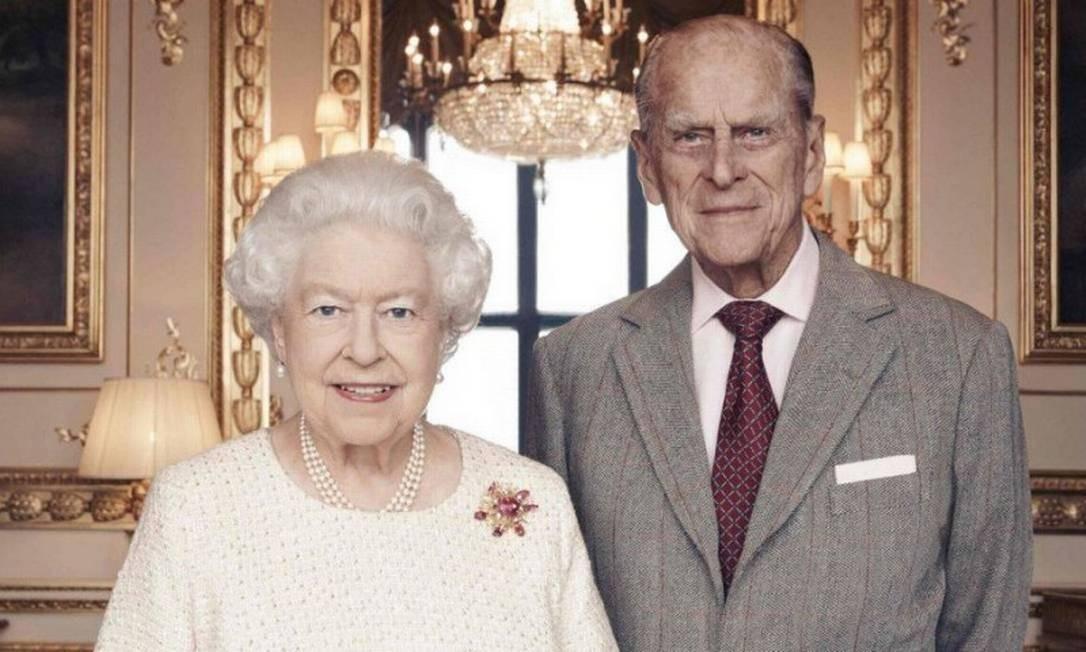 Rainha Elizabeth II e príncipe Philip Foto: Divulgação