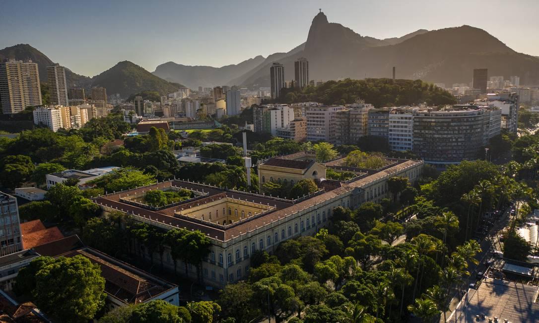 Campus da UFRJ na Praia Vermelha Foto: Brenno Carvalho / Agência O Globo