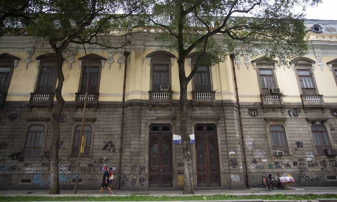 Fachada do Colégio Pedro II, Unidade do Centro Foto: Márcia Foletto / Agência O Globo