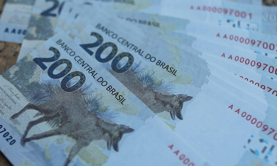 Novas notas de R$ 200: agências de risco revisam projeções. Foto: ADRIANO MACHADO / REUTERS