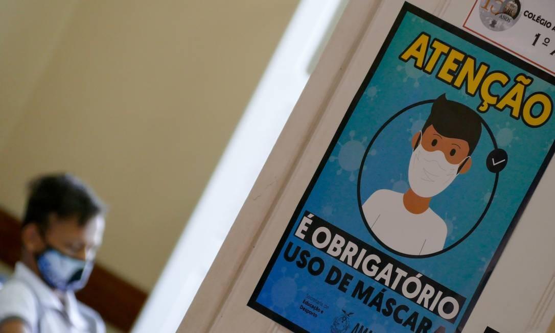 Alunos de Manaus (AM) retornaram às aulas há um mês Foto: Fotoarena / Agência O Globo