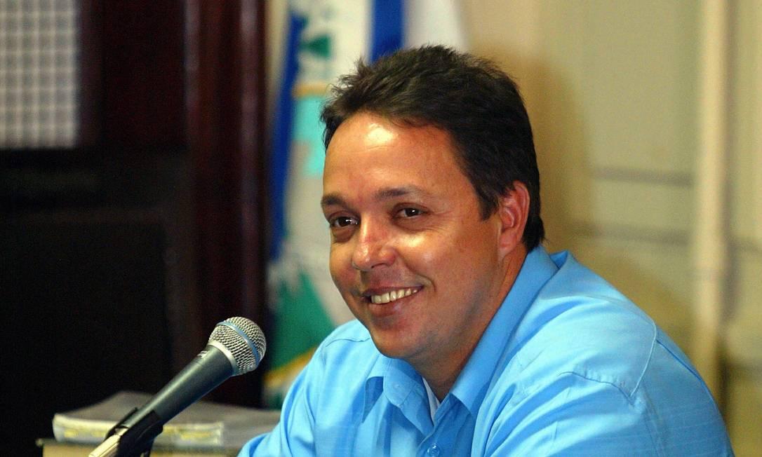 Ex-vereador Cristiano Girão é alvo da operação DéJà vu Foto: Fabiano Rocha / Agência O Globo