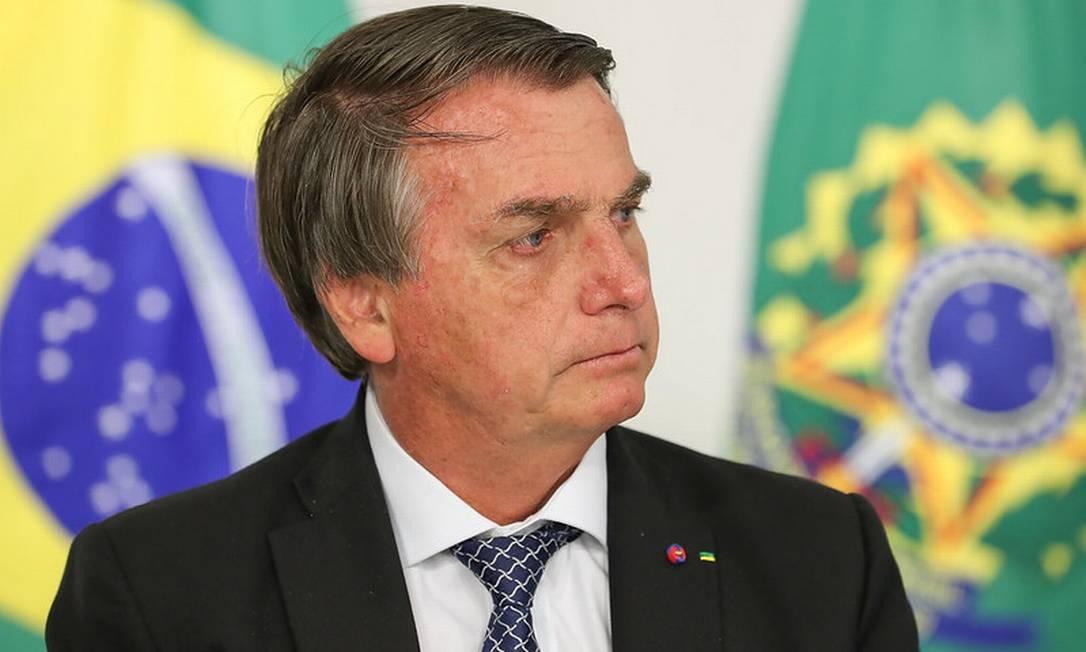O presidente Jair Bolsonaro Foto: Marcos Correa / Divulgação