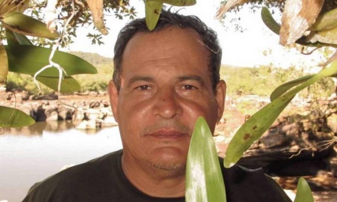 O indigenista Rieli Franciscato, morto após levar uma flechada no peito de índios isolado em Rondônia Foto: Reprodução