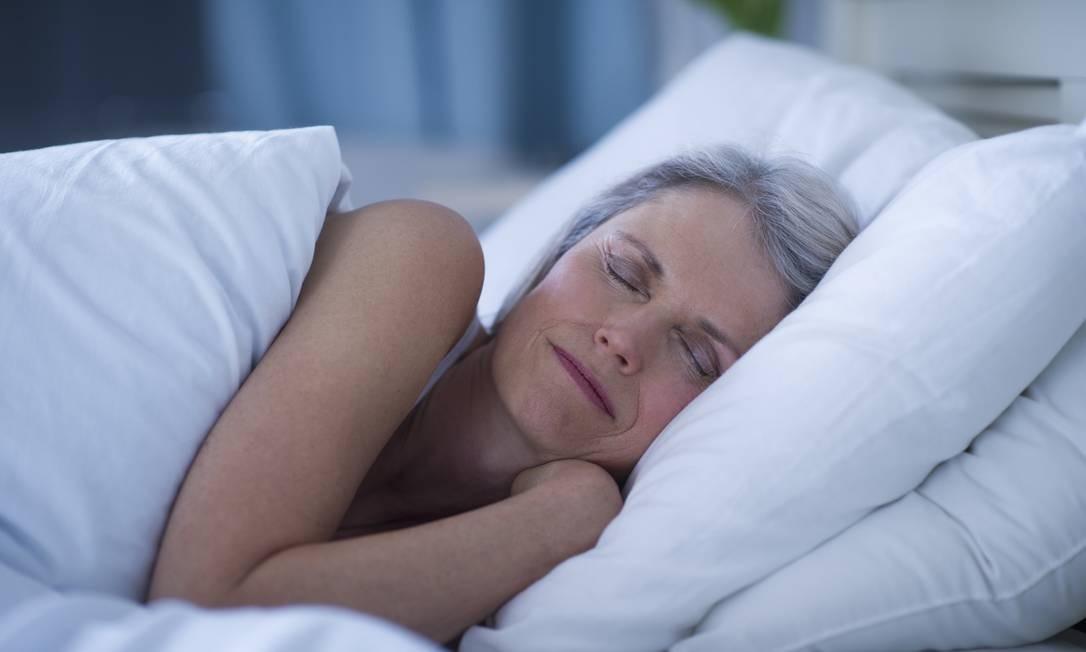 Com a idade, podemos passar menos tempo em sono profundo Foto: Tetra Images / Getty Images/Tetra images RF