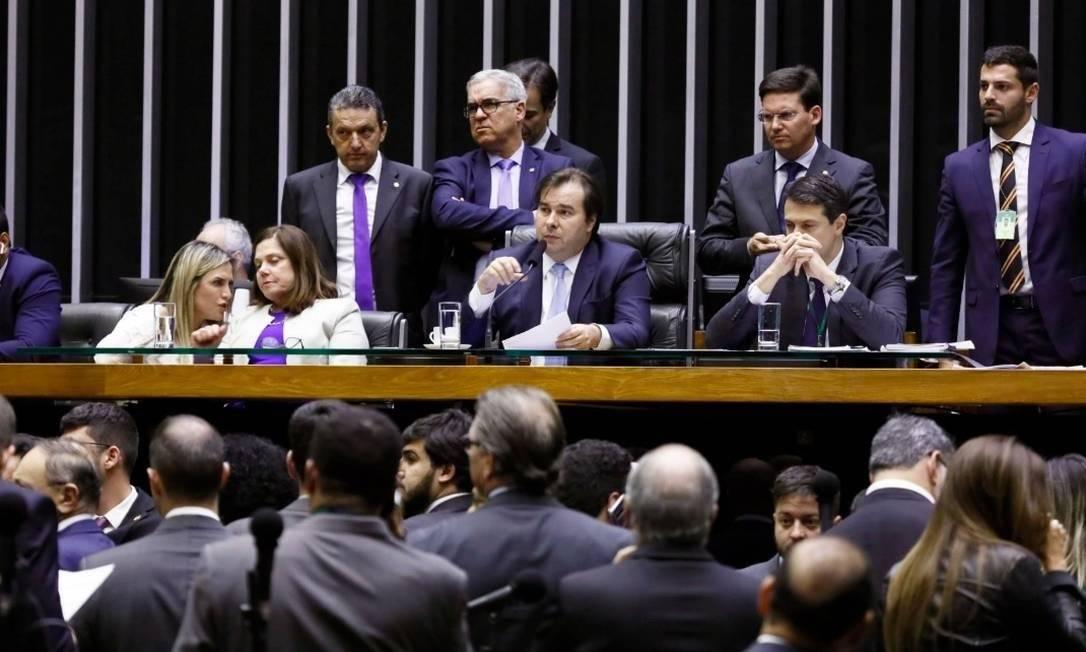 Plenário da Câmara Foto: Câmara dos Deputados