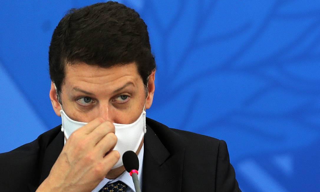 O ministro do Meio Ambiente, Ricardo Salles. Foto: Jorge William / Agência O Globo