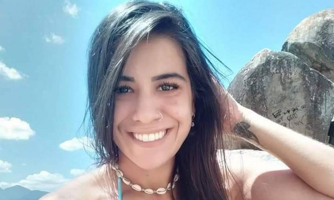 Luane Honorio de Souza, de 28 anos, que foi agredida, apedrejada e esfaqueada Foto: Reprodução