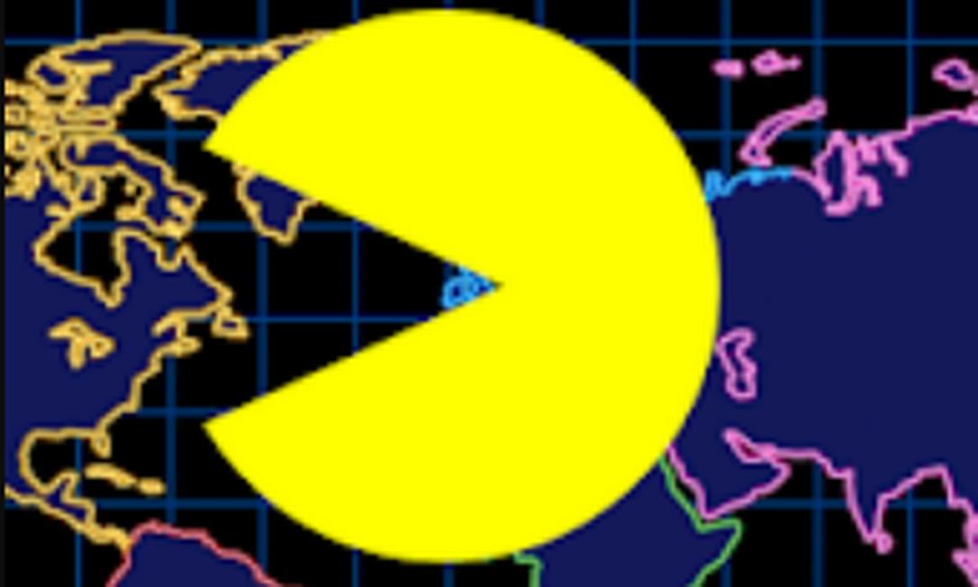 Pac-Man Geo: viagens virtuais com ajuda do Google Maps Foto: Reprodução