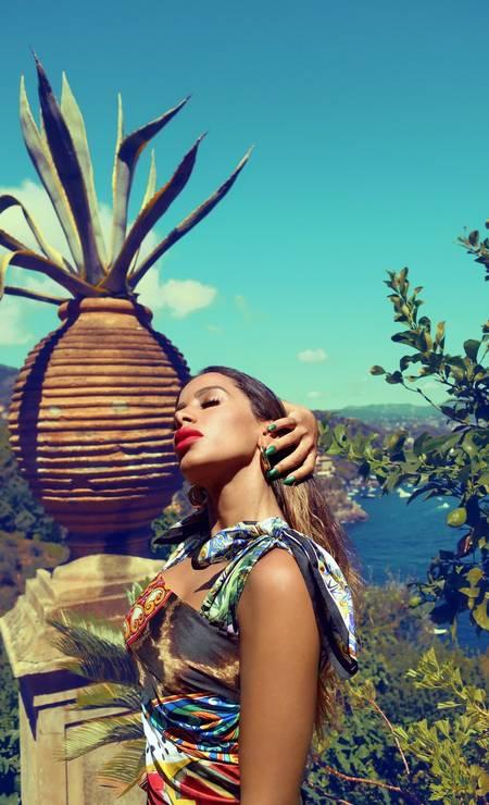 Anitta em Portofino, na Itália Foto: Domenico Dolce