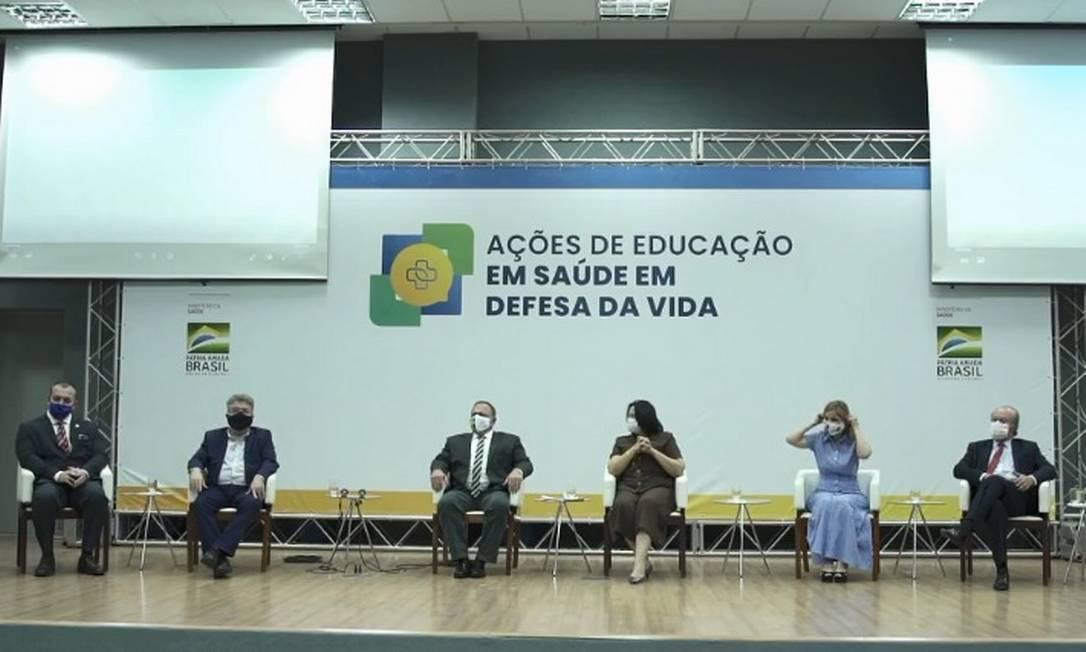 Evento do Ministério da Saúde, no Ceará Foto: Reprodução da internet