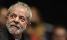 O ex-presidente Luiz Inácio Lula da Silva Foto: Agência O Globo - Douglas Magno