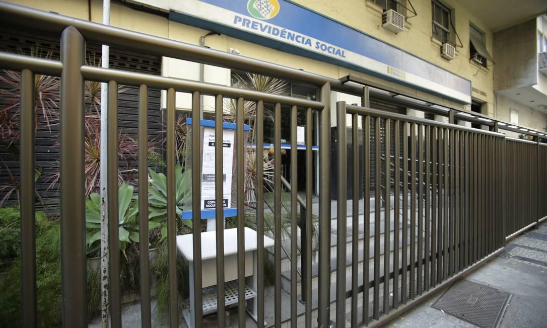 Agências estavam fechadas desde março Foto: Antonio Scorza / Agência O Globo