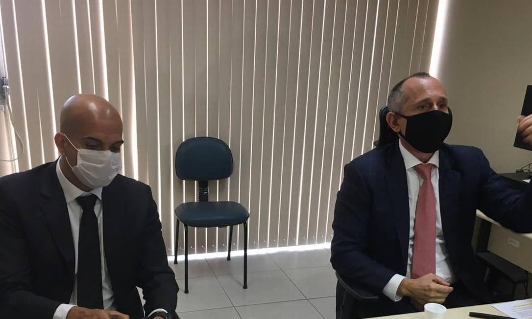 Os promotores responsáveis pelas investigações da Operação Cataratas Foto: Rafael Nascimento de Souza/ O Globo
