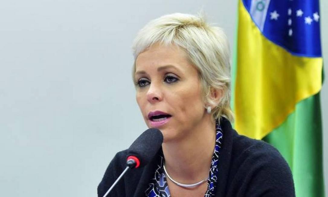 A ex-deputada federal Cristiane Brasil Foto: Reprodução