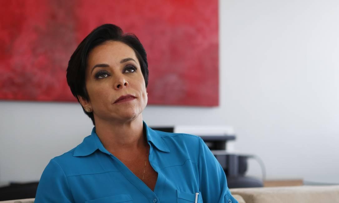 Cristiane Brasil, filha de Roberto Jefferson, quase foi ministra de Temer Foto: Michel Filho em 22-2-2018 / Agência O Globo