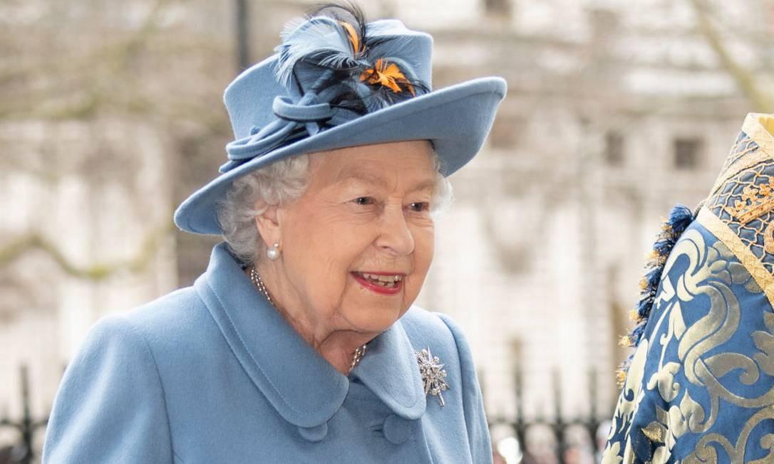 Elizabeth II em março de 2020 Foto: Mark Cuthbert / UK Press via Getty Images