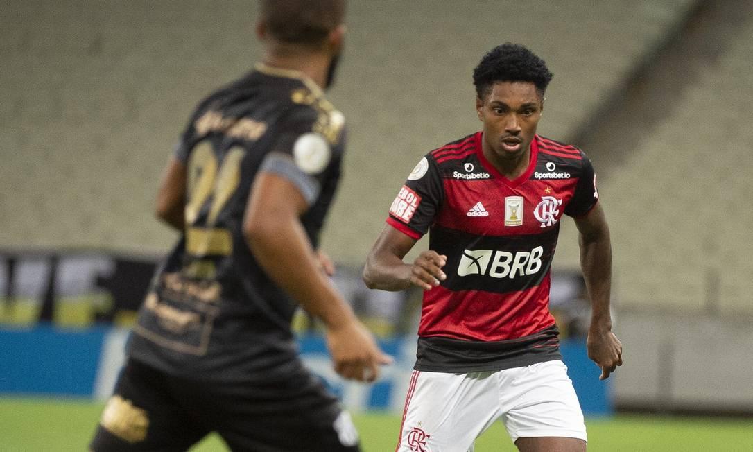 Vitinho Foto: Divulgação/Flamengo