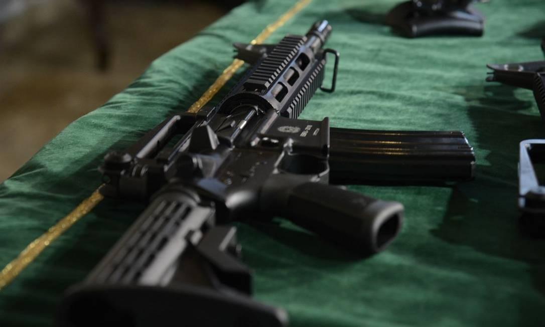 Presidente Jair Bolsonaro flexibilizou rastreamento de armas de fogo e munições Foto: Tomaz Silva / Agência Brasil