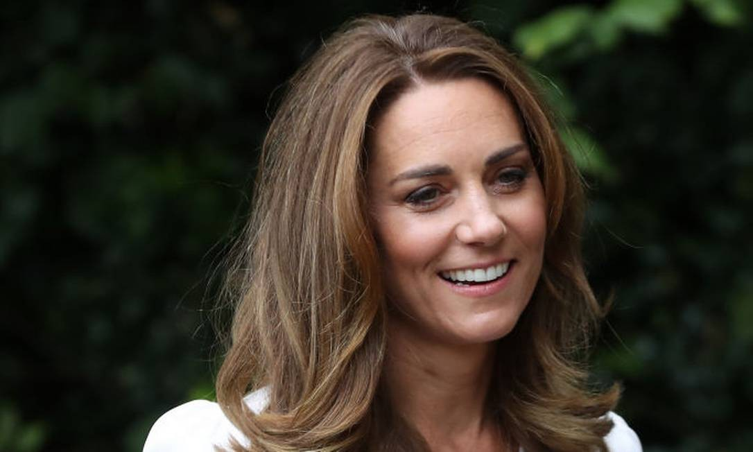 Kate Middleton escolheu 100 imagens para integrar projeto Foto: Chris Jackson / Getty Images